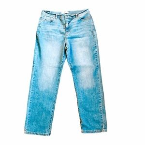 Levi's High Waisted Straight Leg Jeans Size 32